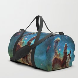 Eagle Nebula's Pillars Duffle Bag
