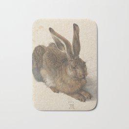 Hare by Albrecht Dürer Bath Mat