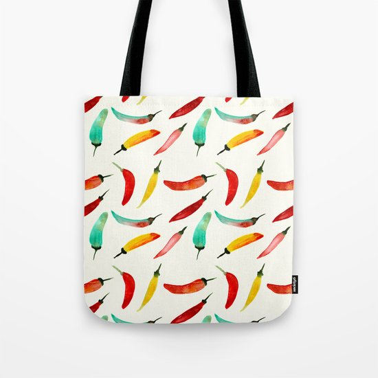 Hot chili peppers Tote Bag