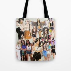 Coachella Girls Tote Bag