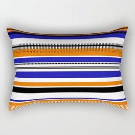 SSLICEE - Stripe, Lines, Orange, Fun, Summer, Clean Rectangular Pillow