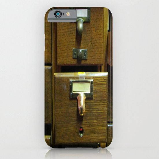 Used Card Catalog (Full of Toys) iPhone & iPod Case