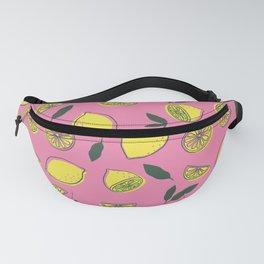 Pink Lemonade Pattern Fanny Pack