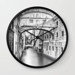Bridge of Sighs Wall Clock