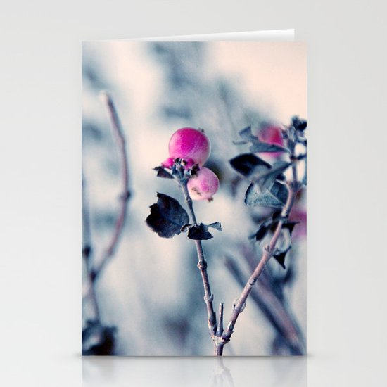 pink berry Stationery Cards