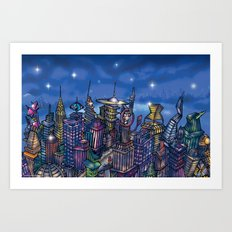 C2 & Posse (New-New York City) Art Print