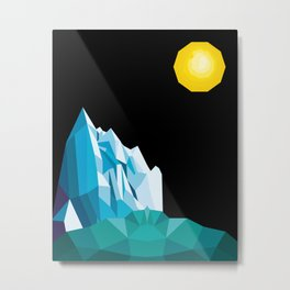 Artic Landscape Metal Print