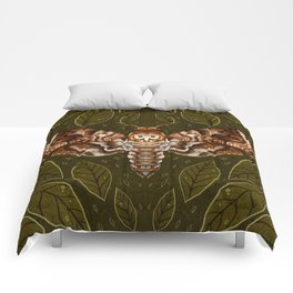 Deaths-Head Moth Comforters