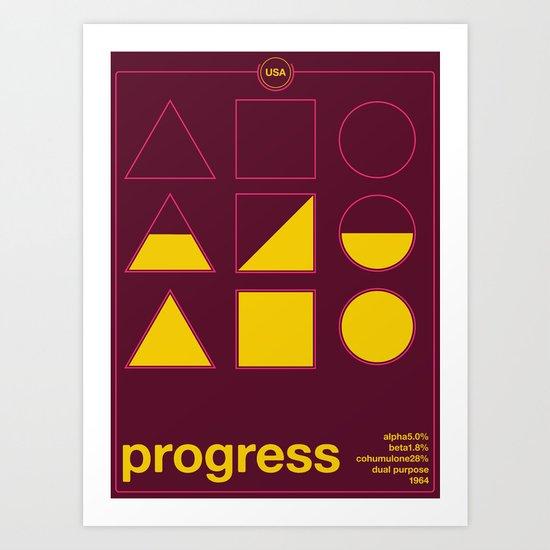 progress single hop Art Print