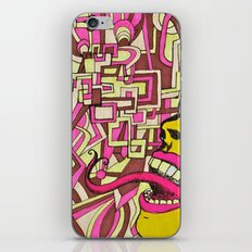 The Most Gigantic Lying Mouth iPhone & iPod Skin