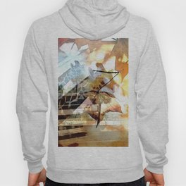 Giraffes in the Shadow of Fall Leaves Hoody