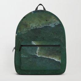 Green pounamu Backpack