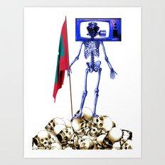 Maldives: The Sunny Side of Life Art Print