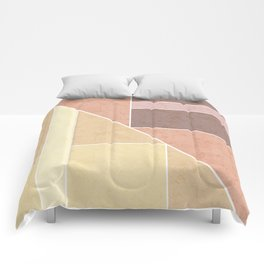 Simple geometric pattern. 2 Comforters