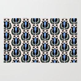 Tulip Pattern Rug Rug