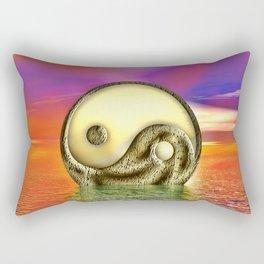 Ying Yang  Zeichen Rectangular Pillow