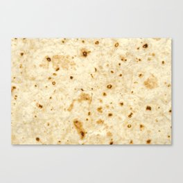 Burrito Baby/Adult Tortilla Blanket Canvas Print