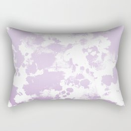 Painted abstract minimal ombre painting charlotte winter canvas art Rectangular Pillow