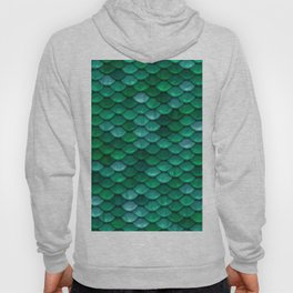 Green Penny Scales Hoody