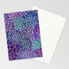 Floral Abstract 22 Stationery Cards