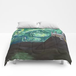 Starry Night at Hogwarts Comforters