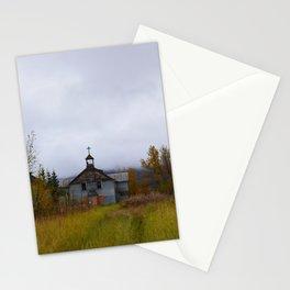 Abandoned Orphanage in Northwest Alaska Stationery Cards