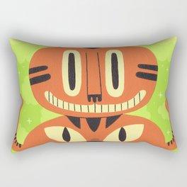 Totem Cat Rectangular Pillow
