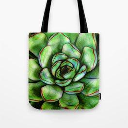 Graphic Succulent Tote Bag