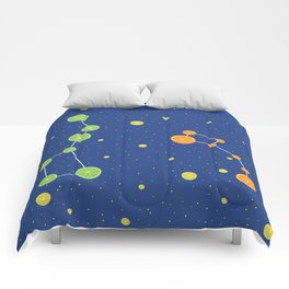Citrus constellations Comforters