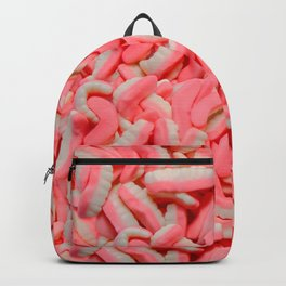 Gummy Teeth Real Candy Pattern Backpack