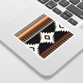 Pueblo in Sienna Sticker
