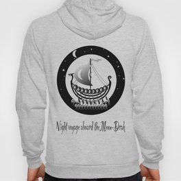 Night voyage aboard the Moon-Drake Hoody