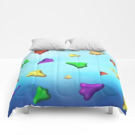 Jet Planes by Squibble Design Comforters