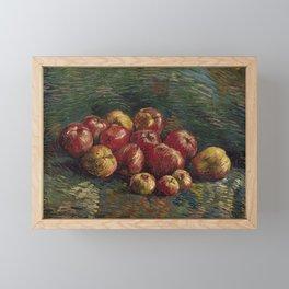 Apples by Vincent van Gogh, 1887 Framed Mini Art Print