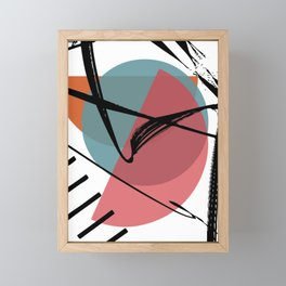 Torn Shackles Framed Mini Art Print
