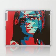 Portrait in Red Laptop & iPad Skin
