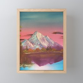 Autumn Sunset Sky Framed Mini Art Print