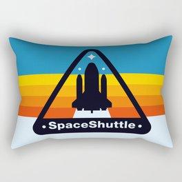 NASA Space Shuttle Badge Rectangular Pillow