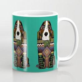 Basset Hound jade Coffee Mug