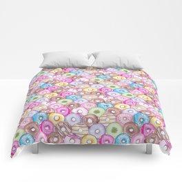 Donut Invasion Comforters