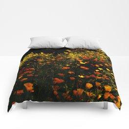 Beautiful garden flowers Comforters