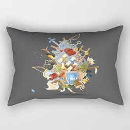 It's Dangerous to go alone, Take This. Rectangular Pillow