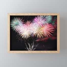 !Firework! Framed Mini Art Print