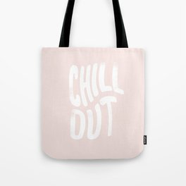 Chill Out Vintage Pink Tote Bag