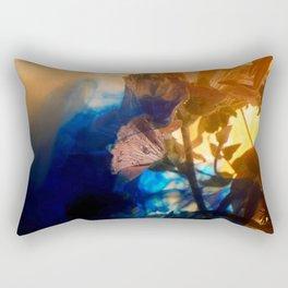 Hollyhock Rectangular Pillow