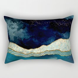 Indigo Sky Rectangular Pillow