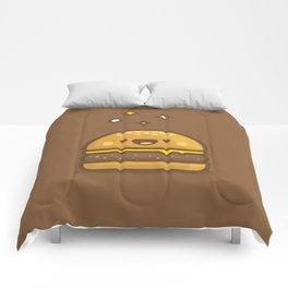 Golden Cheeseburger Comforters