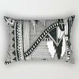 Systematic Chaos 6 Rectangular Pillow