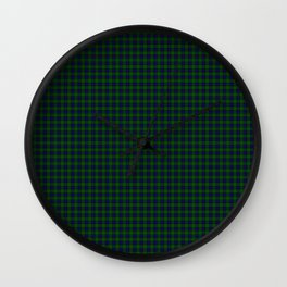 Sinclair Tartan Wall Clock
