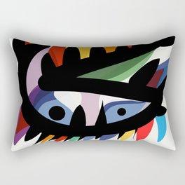 Depemiro Abstract Colorful Art Rectangular Pillow